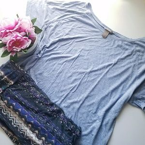 Periwinkle Jersey Tee